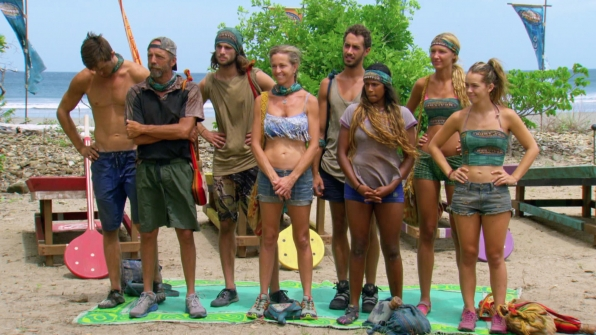 Lining up for the immunity challenge