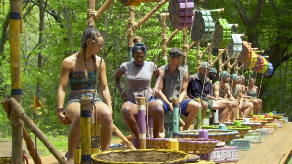 Who will get a leg up in the immunity challenge?
