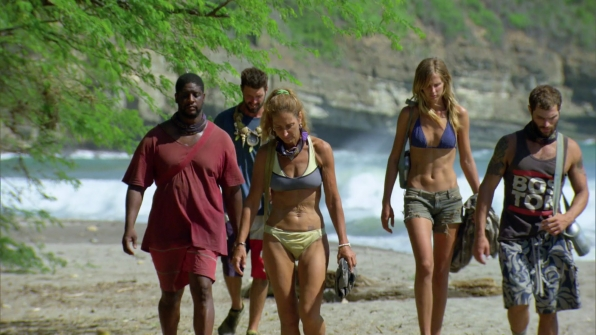 Enjoying their final Survivor moments