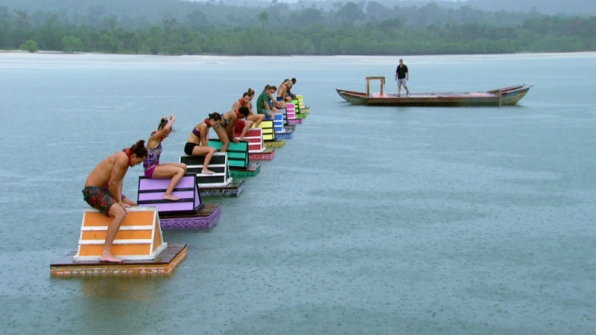 The castaways find their footing as the challenge kicks off.