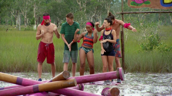 Stephen, Spencer, Tasha, Ciera, and Joe are ready to get dirty.