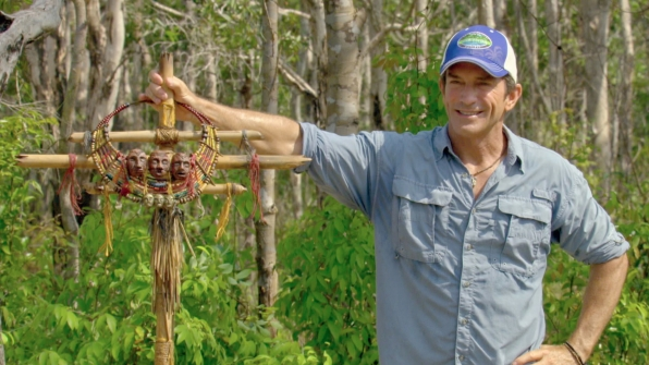 Jeff poses with the intricately designed Individual Immunity Necklace.