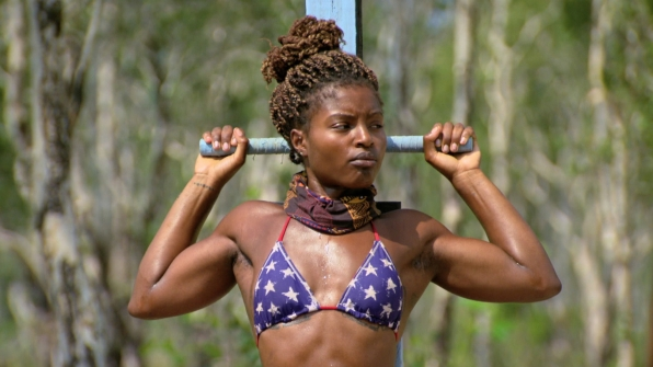 Cydney stays strong as the challenge tests her strength.