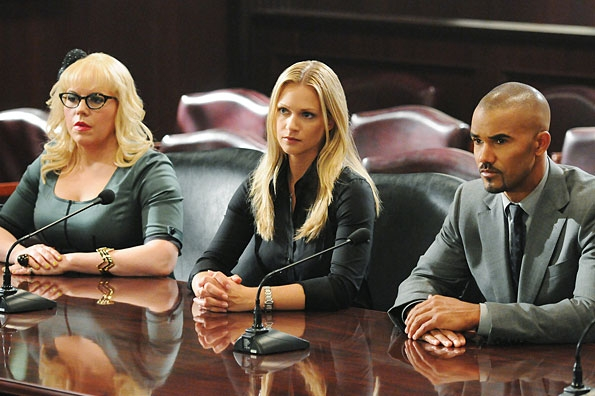 The BAU Team Sit For Questioning