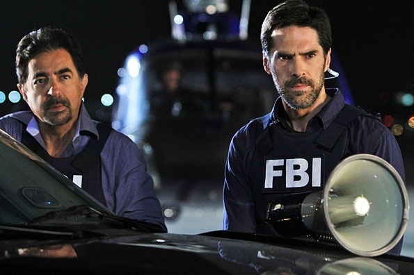 Rossi and Hotchner Stand at the Ready