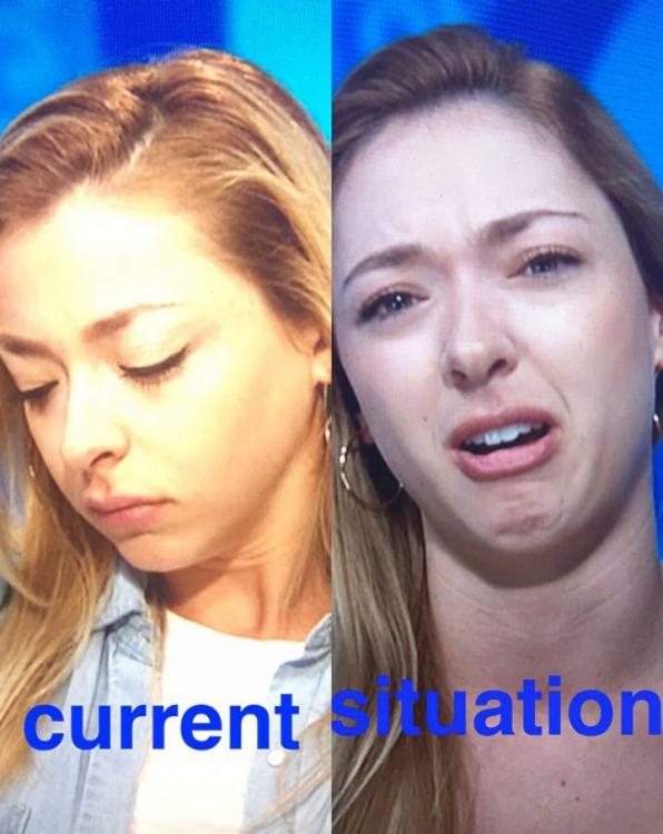 Tearful twins.