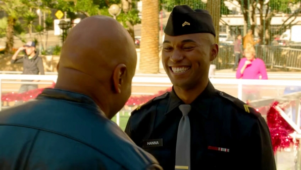 14. We met Aiden Hanna - NCIS: Los Angeles