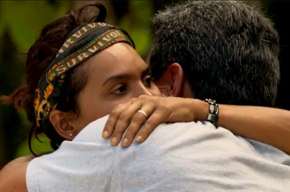 Season 20: Sandra Diaz-Twine is reunited with her uncle.