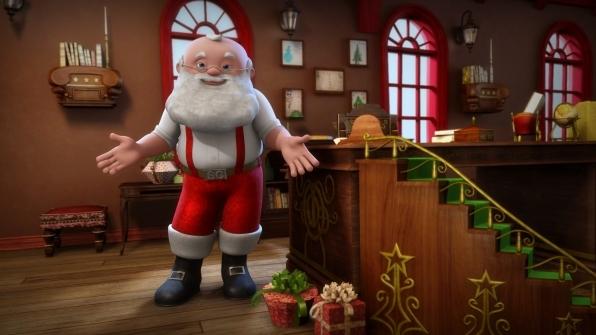 4. Hugs from Santa