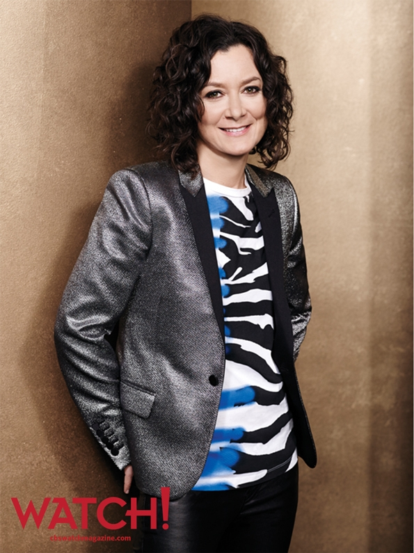 """We really love each other, and there really is no drama."" -- Sara Gilbert."