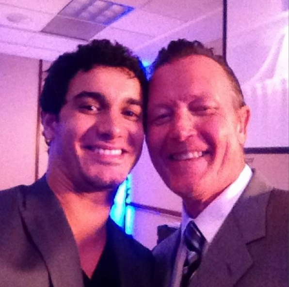 Elyes Gabel and Robert Patrick - Scorpion
