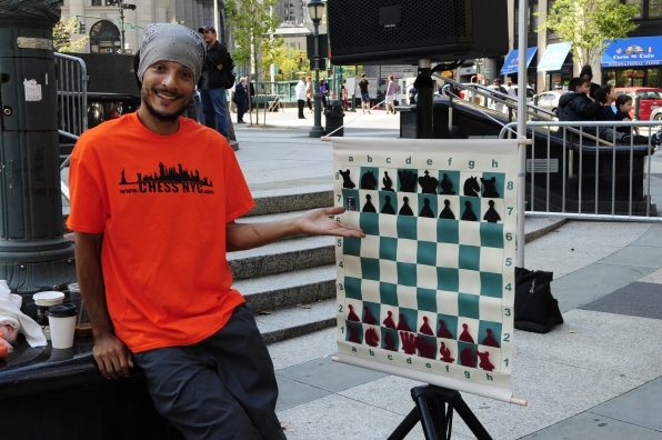 Human Chess Game Scorpion NYC Event