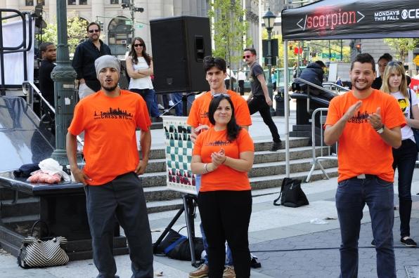 Human Chess Game Scorpion NYC Event