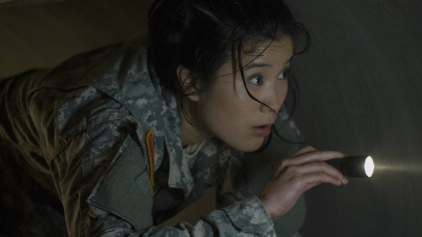 Jadyn Wong as Happy Quinn