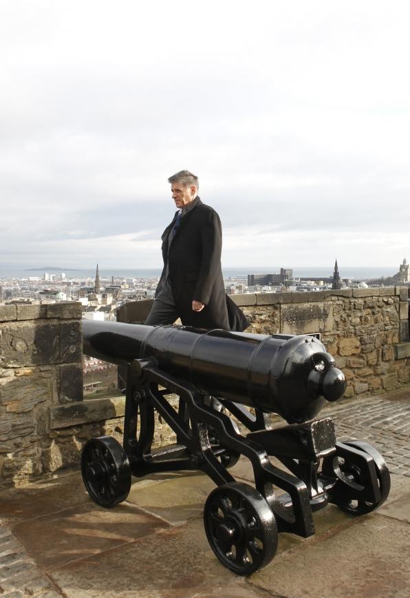 Craig at Edinburgh Castle