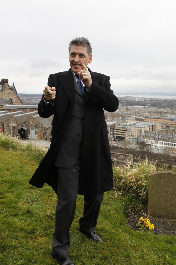Craig in Edinburgh