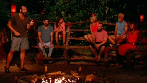 9. The jury get a chance to speak while the Final 3 make their case.