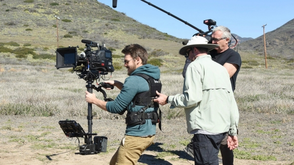 Scott Clifton stepped behind the camera while off-site in the Malibu mountains.