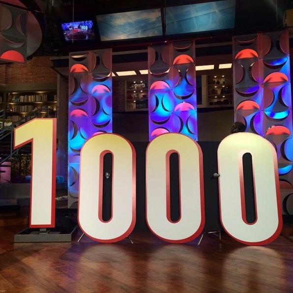 10. #TheTalk1000