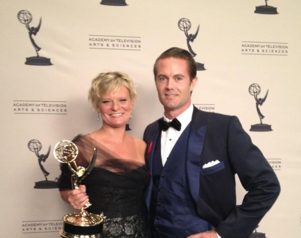 Martha and her EMMY