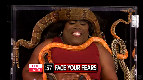 Sheryl Underwood faces her fear