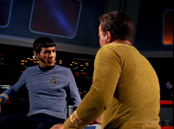 3. When Spock and Kirk worked together