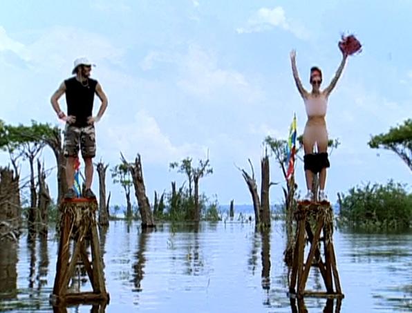 5. Will strip for peanut butter (<i>Survivor: The Amazon</i>)
