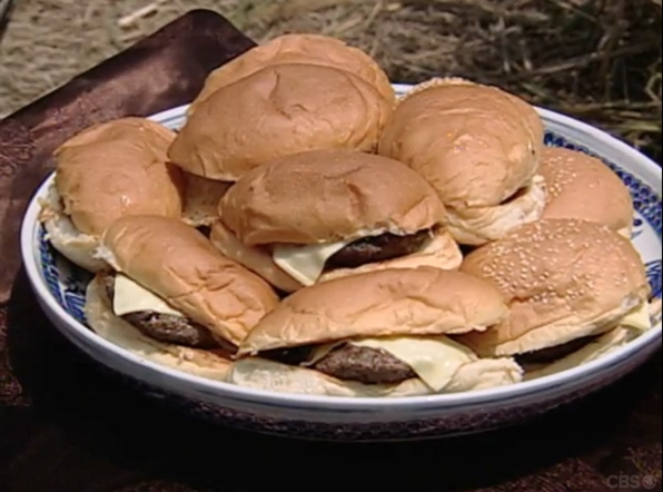17. Cheeseburgers!