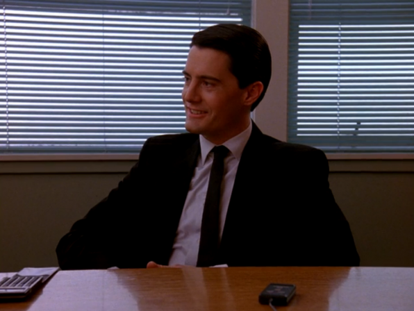Main cast of characters to care about: FBI Special Agent Dale Cooper