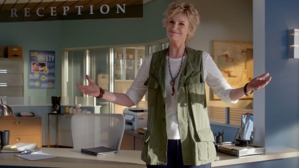 1. Jane Lynch is a comedic genius