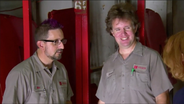 2. What did you find most surprising about your Undercover Boss experience?