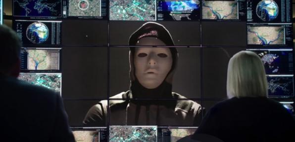 14. White mask
