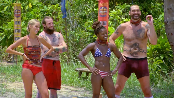 Alecia says no to an early Tribal Council.