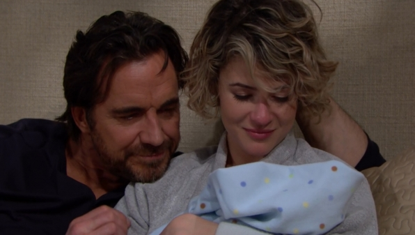 Caroline and Ridge revel in their happiness.