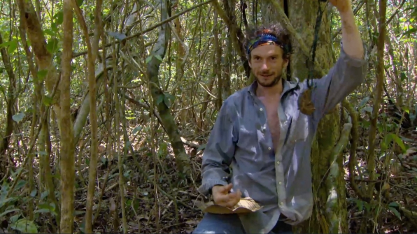 Neal finds a Hidden Immunity Idol.