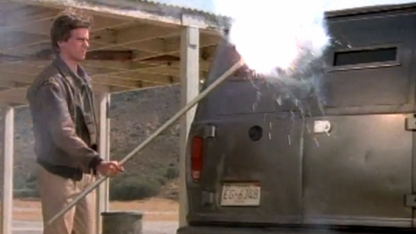 Fire in the hole! (Classic: Season 1, Episode 7)