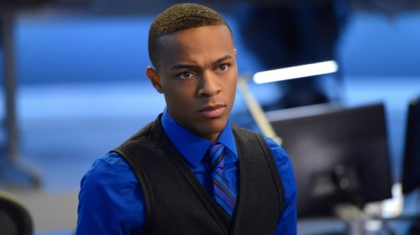 It's Shad Moss, who plays hacker Brody Nelson on <i>CSI: Cyber!</i>