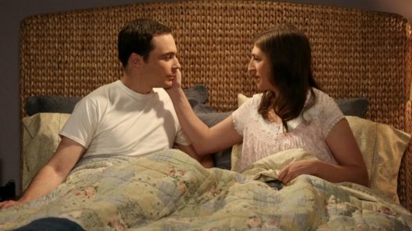 1. Sheldon and Amy consummated their relationship.