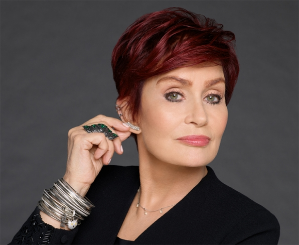 British beauty Sharon Osbourne