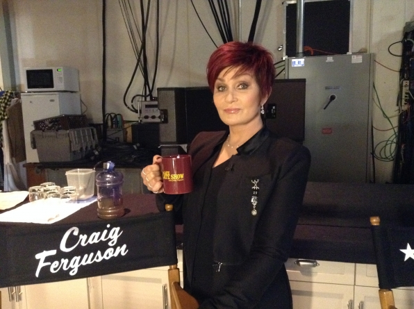Sharon Osbourne - Behind the Scenes at The Late Late Show