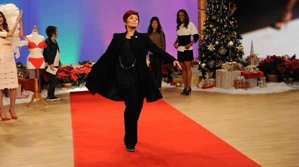 Sharon Osbourne talks the talk and werks the walk.