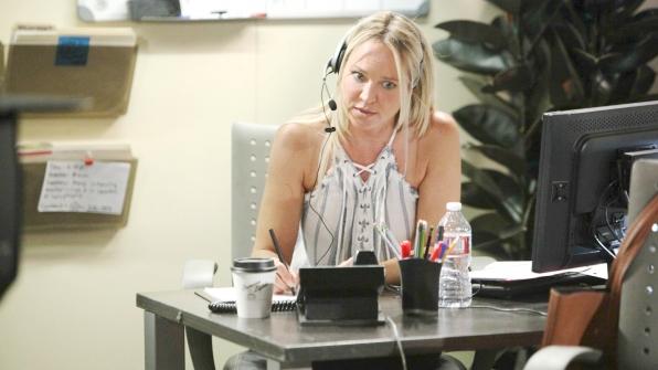 Sharon receives a distress call.