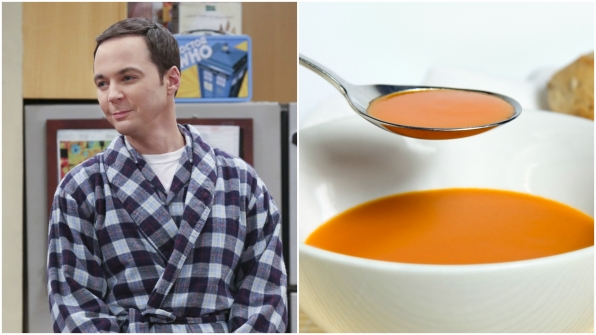 """I'm warm and soothing. I'm like a human bowl of tomato soup."""