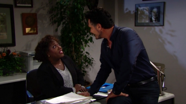 Sheryl Underwood made a guest appearance on B&B.