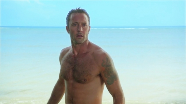 Shirtless McGarrett has been sighted.
