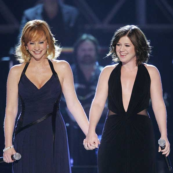 When she performed a duet with Kelly Clarkson.