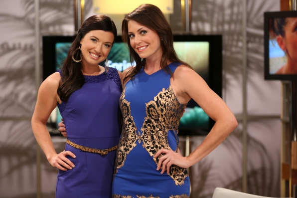 Parvati and Corinne on the Survivor After Show on April 4