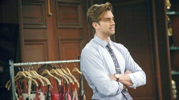 Thomas confronts Ridge about the real reason he was sent away to Paris.