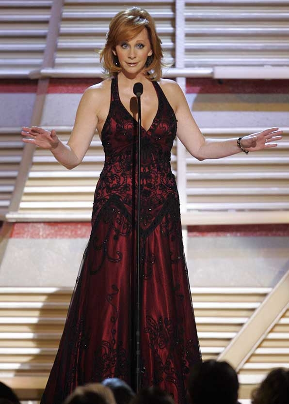These Reba McEntire moments from the ACMs will make you consider her anything but gone.