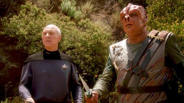 """Darmok and Jalad at Tanagra."""